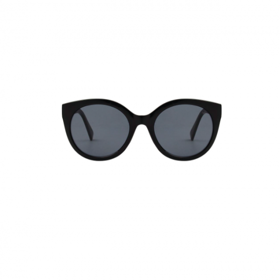 A.Kjaerbede unisex zonnebril model BUTTERFLY kleur zwart met grijze glazen AKsunnies bril