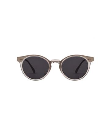 A.Kjaerbede zonnebril model EAZY mat grijst met grijze glazen AKsunnies bril sunglasses