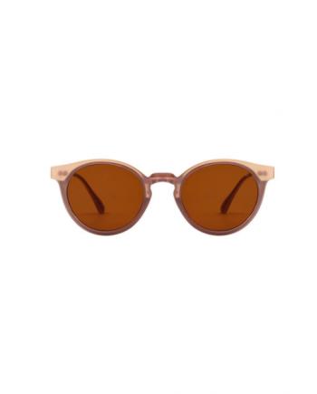 A.Kjaerbede zonnebril model EAZY oud roze met bronze glazen AKsunnies bril sunglasses