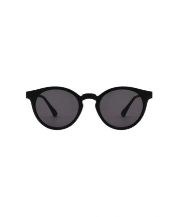 A.Kjaerbede zonnebril model EAZY zwart met grijze glazen AKsunnies bril sunglasses