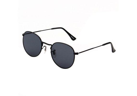 A.Kjaerbede unisex zonnebril model Hello kleur zwart met grijze glazen AKsunnies bril