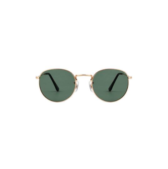A.Kjaerbede unisex zonnebril model Hello goed met groene glazen AKsunnies bril