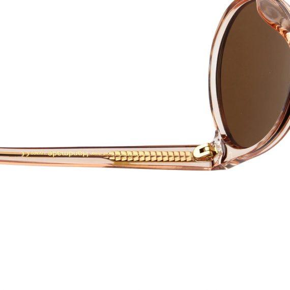 A.Kjaerbede zonnebril model MARVIN champagne met bronze glazen AKsunnies bril sunglasses