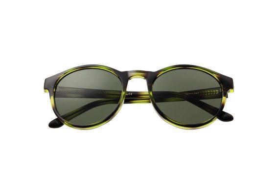 A.Kjaerbede zonnebril model MARVIN groen zwart gevlekt met groene glazen AKsunnies bril sunglasses