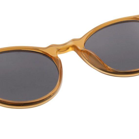 A.Kjaerbede zonnebril model MARVIN licht bruin met grijze glazen AKsunnies bril sunglasses
