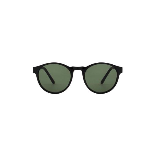 A.Kjaerbede zonnebril model MARVIN zwart met grijze glazen AKsunnies bril sunglasses