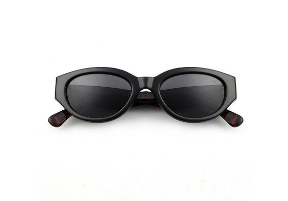 A.Kjaerbede zonnebril model WINNIE zwart met grijze glazen AKsunnies bril sunglasses