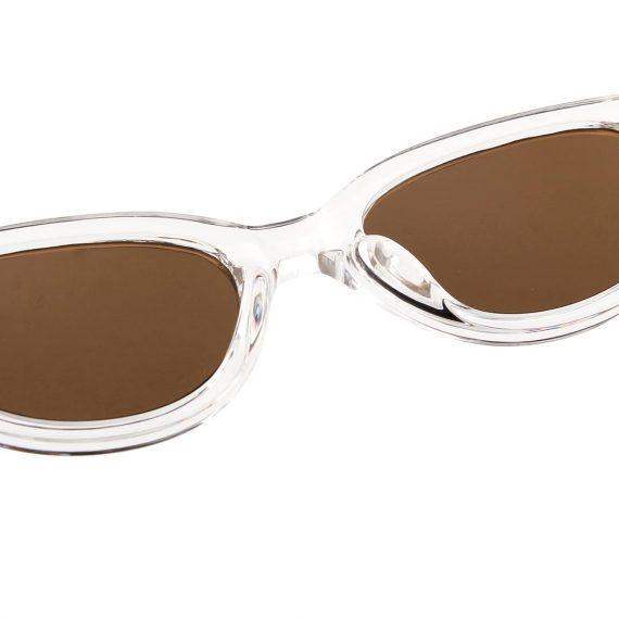 A.Kjaerbede zonnebril model WINNIE kristal transparant met bronze glazen AKsunnies bril sunglasses