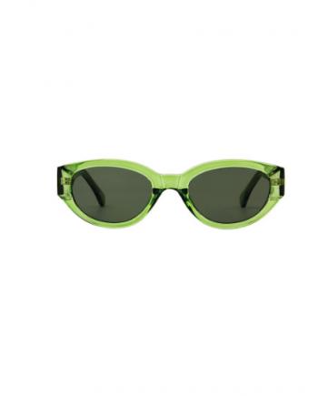 A.Kjaerbede zonnebril model WINNIE groen met groene glazen AKsunnies bril sunglasses