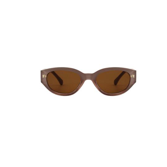 A.Kjaerbede zonnebril model WINNIE oud roze met bronze glazen AKsunnies bril sunglasses