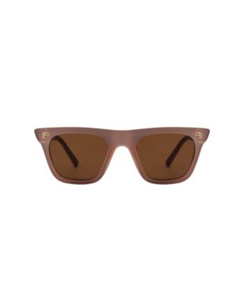 A.Kjaerbede zonnebril model FINE oud roze met bronze glazen AKsunnies bril sunglasses