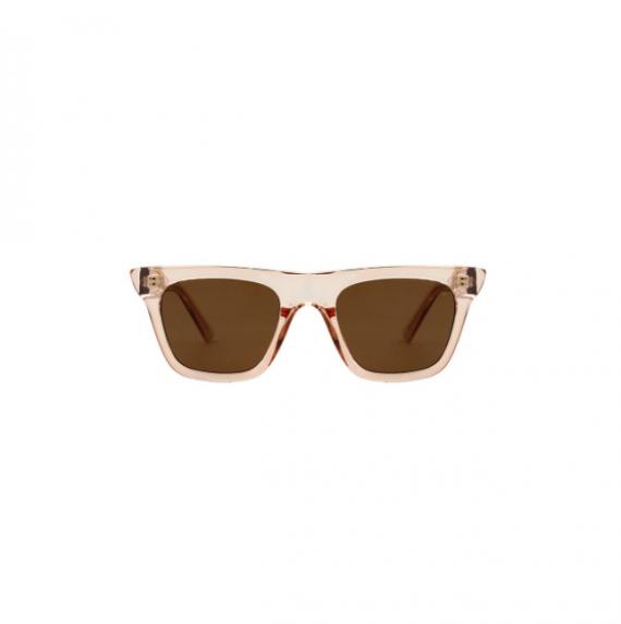 A.Kjaerbede zonnebril model FINE champagne met bronze glazen AKsunnies bril sunglasses