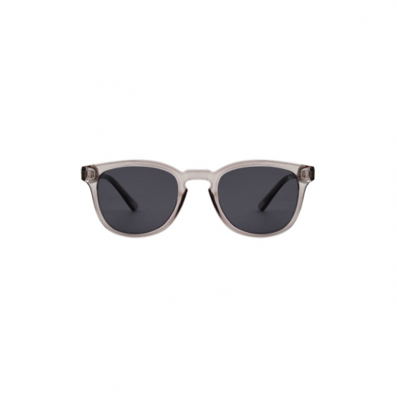 A.Kjaerbede zonnebril model BATE licht grijs transparant met grijze glazen AKsunnies bril sunglasses