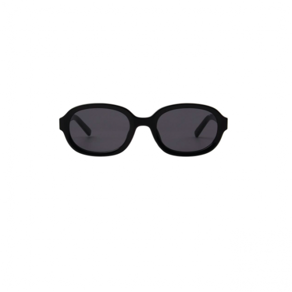 A.Kjaerbede unisex zonnebril model BOB kleur zwart met grijze glazen AKsunnies bril