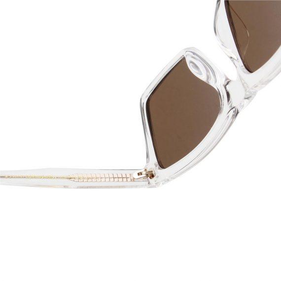 A.Kjaerbede zonnebril model CLAY kleur kristal met bronze glazen AKsunnies bril