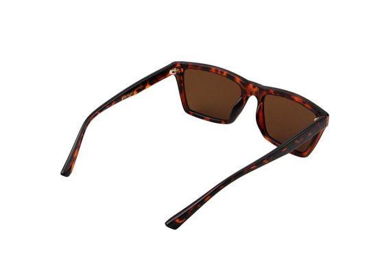 A.Kjaerbede zonnebril model CLAY kleur bruin tortiose met bronze glazen AKsunnies bril