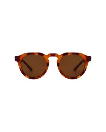 A.Kjaerbede zonnebril model GEORGE licht bruin tortoise met bronze glazen AKsunnies bril sunglasses