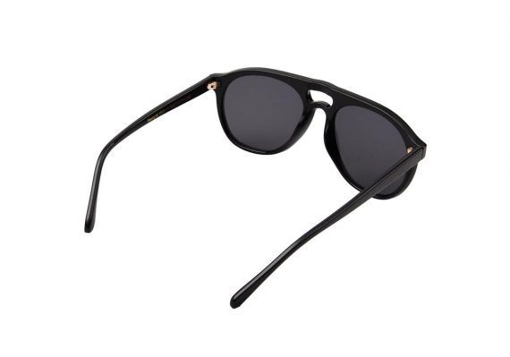 A.Kjaerbede zonnebril model HENRY zwart met grijze glazen AKsunnies bril sunglasses