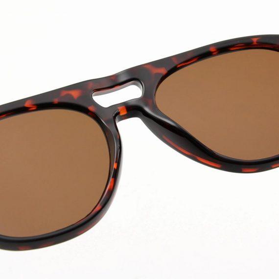 A.Kjaerbede zonnebril model HENRY bruin tortiose met bronze glazen AKsunnies bril sunglasses