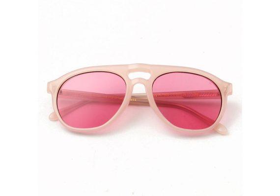 A.Kjaerbede zonnebril model HENRY perzik met roze glazen AKsunnies bril sunglasses