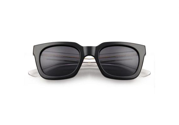 A.Kjaerbede zonnebril model NANCY zwart met grijze glazen AKsunnies bril sunglasses