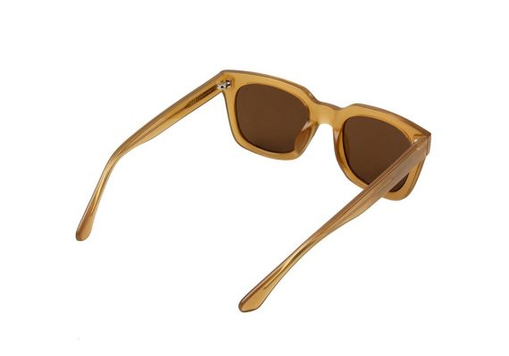 A.Kjaerbede zonnebril model NANCY kleur licht bruin met grijze glazen AKsunnies bril
