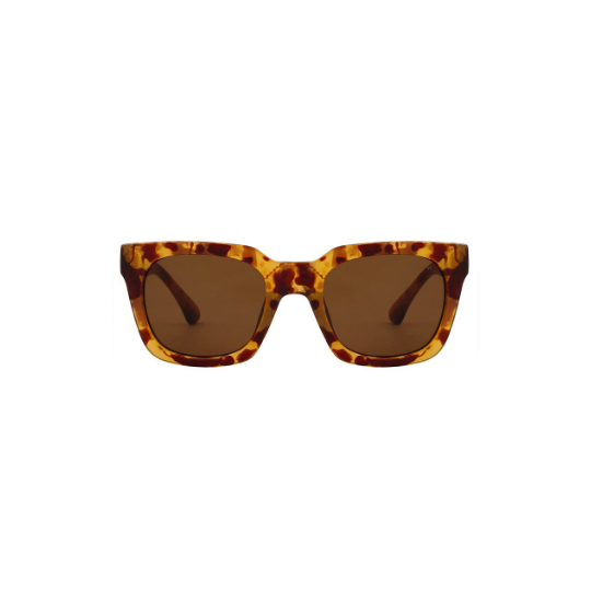 A.Kjaerbede zonnebril model NANCY licht bruin tortoise met bronze glazen AKsunnies bril sunglasses