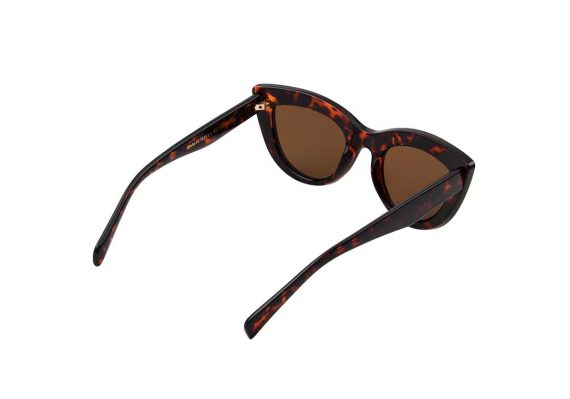 A.Kjaerbede zonnebril model Stella bruin tortiose met bronze glazen AKsunnies bril sunglasses