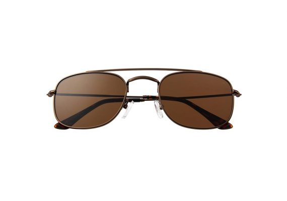 A.Kjaerbede zonnebril model TOBY kleur bruin met bronze glazen AKsunnies bril