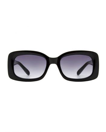 A.Kjaerbede zonnebril model SALO kleur zwart met grijze glazen AKsunnies bril sunglasses Akjaerbede eyewear