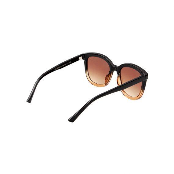 A.Kjaerbede zonnebril model BILLY kleur blackbrown met bronze glazen AKsunnies bril sunglasses Akjaerbede eyewear