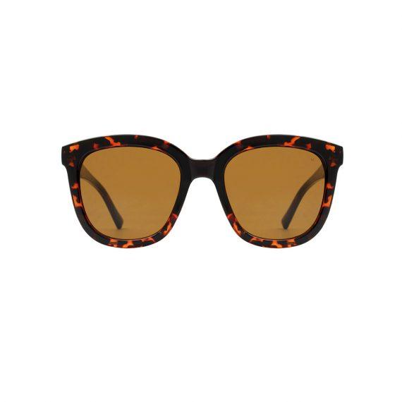 A.Kjaerbede zonnebril model BILLY kleur tortoise met bronze glazen AKsunnies bril sunglasses Akjaerbede eyewear