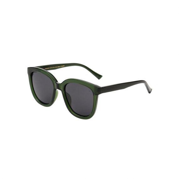 A.Kjaerbede zonnebril model BILLY kleur groen met groene glazen AKsunnies bril sunglasses Akjaerbede eyewear