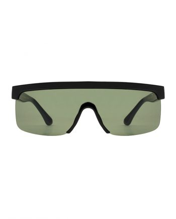 A.Kjaerbede zonnebril model MOVE 1 kleur zwart met grijze glazen AKsunnies bril sunglasses Akjaerbede eyewear