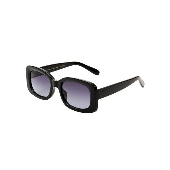 A.Kjaerbede zonnebril model SALO kleur zwart met gradiant glazen AKsunnies bril sunglasses Akjaerbede eyewear